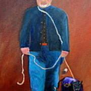 Civil War Reenactor Art Print