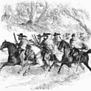 Civil War: Texas Rangers Art Print