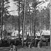 Civil War: Union Camp, 1864 Art Print