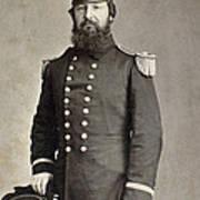 Civil War Union Commander Art Print