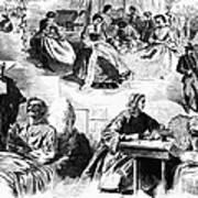 Civil War: Women, 1862 Art Print