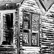 Clapboards And Lace Art Print