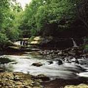 Clare River, Clare Glens, Co Tipperary Art Print