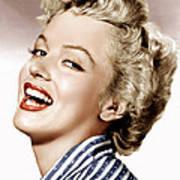Clash By Night, Marilyn Monroe, 1952 Art Print