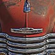 Classic 50s Chevy Art Print