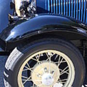 Classic Antique Car- Roaring Twenties - Detail Art Print