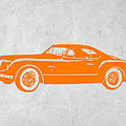 Classic Car 2 Print by Naxart Studio