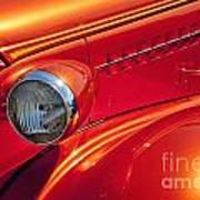 Classic Car Lines Art Print