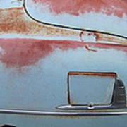 Classic Car Rust 6 Art Print