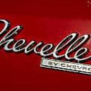 Classic Chevelle Art Print