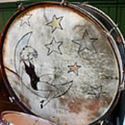 Classic Drums Art Print