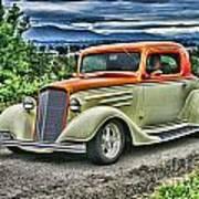 Classic Ford Hdr Art Print