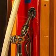 Classic Gas Pump Art Print