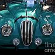 Classic Green Jaguar . 40d9411 Art Print by Wingsdomain Art and Photography