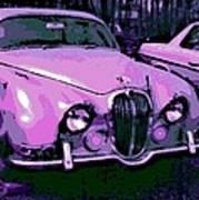 Classic In Pink Art Print