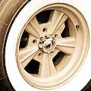 Classic Wheel Art Print