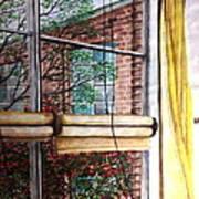 Classroom Window Art Print