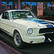 Classy Mustang Art Print