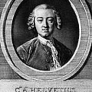 Claude Adrien Helvetius Art Print