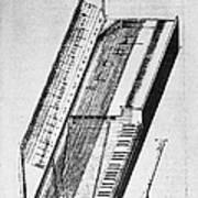 Clavichord, 1636 Art Print