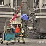 Cleaning Equipment Art Print