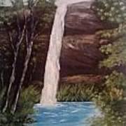 Clear Cool Water Art Print