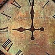 Clevedon Clock Art Print by Robert Smith