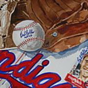 Cleveland Legend Bob Feller Art Print