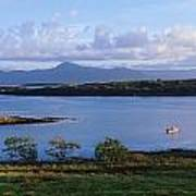 Clew Bay, Co Mayo, Ireland Art Print