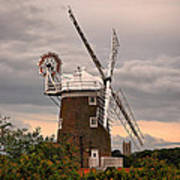 Cley Windmill Art Print by Chris Thaxter