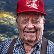 Cliff - Proud Member Of Napanee's Walker Brigade Art Print