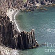 Cliffs At Grand Manan Island, Canada Art Print