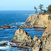 Cliffside Oceanview Art Print