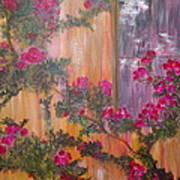 Climbing Rose Vine Art Print