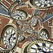Clocked Art Print