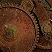 Clockwork Rust Art Print by Odd Jeppesen