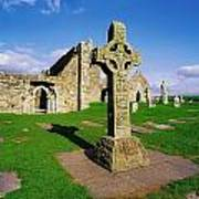 Clonmacnoise, Co Offaly, Ireland High Art Print