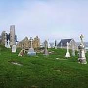 Clonmacnoise Monastery, County Offaly Art Print