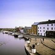 Cloondara, Co Longford, Ireland Town At Art Print