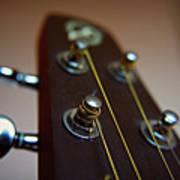Close-up Of Guitar Art Print by Image by Maistora (Vladimir Dimitroff)