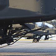 Close-up View Of The M230 Chain Gun Art Print