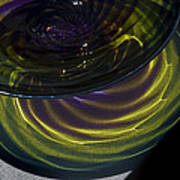 Close View Of Glass Bowl Art Print