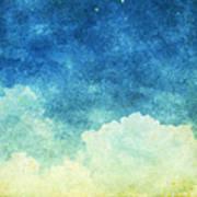 Cloud And Sky Art Print by Setsiri Silapasuwanchai