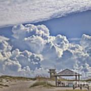 Cloud Merge Art Print