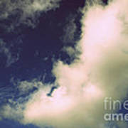 Clouds-11 Art Print
