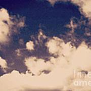 Clouds-2 Art Print