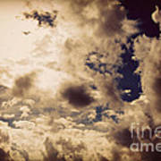 Clouds-8 Art Print