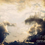 Clouds-9 Art Print