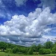 Clouds Art Print by Matthew Green