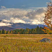 Clouds Over Algonquin Mountain Art Print